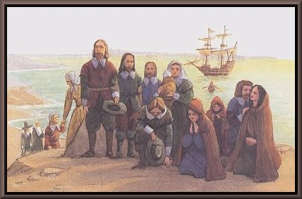 the puritans in on plymouth plantation Plymouth colony, the first permanent puritan settlement in america, was established in december 1620 on the western shore of cape cod bay by the english separatist puritans known as the pilgrims they were few in number and without wealth or social standing although their small and weak colony .